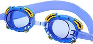 d73e5b85a Óculos Natação Cor Azul Claro Siri Caranguejo Peixinho Infantil Piscina  Nadar Criança Liquidação Promoção Barato Oferta
