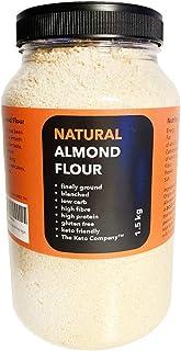 The Keto Company Amandelmeel 1,5 kg, fijn grond, keto-vriendelijk, koolhydraatarme, glutenvrij, veganistisch, uit Spanje (...