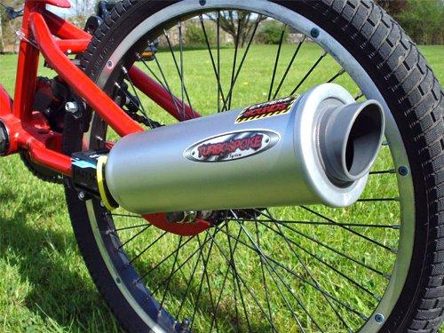 TURBOSPOKE La Marmitta per la tua bicicletta, Trasforma la tua bici in una moto!