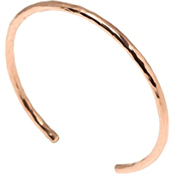 3mm Hammered Copper Cuff Bracelet By John S Brana Handmade Jewelry 100% Solid Uncoated Copper
