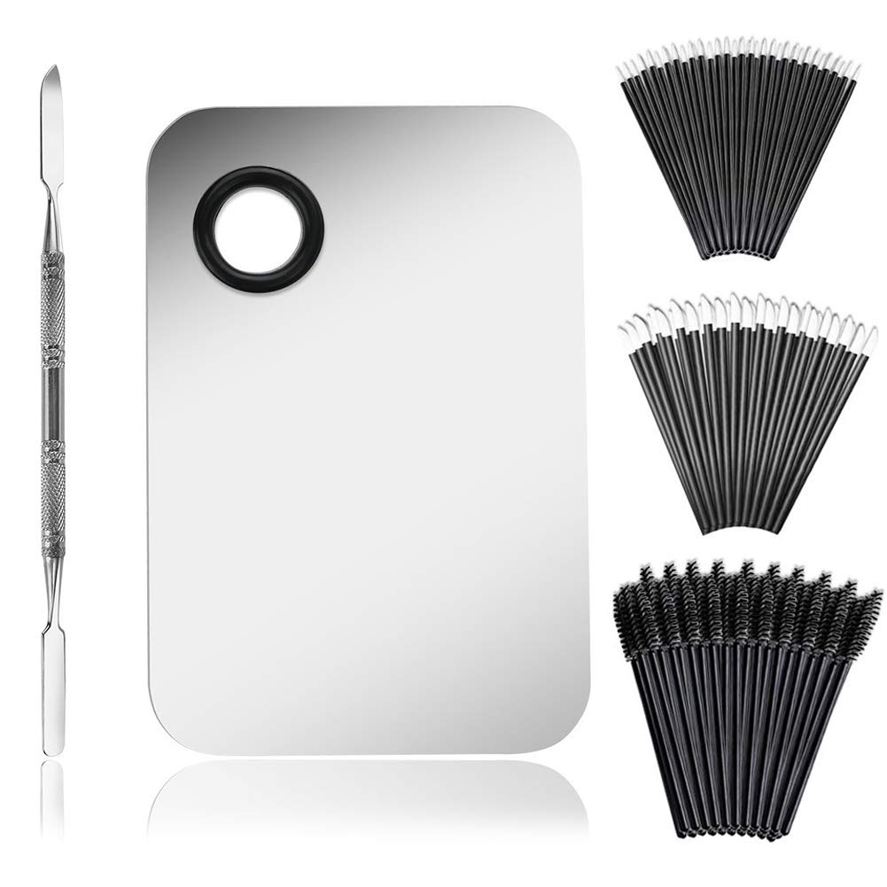 Makeup Palette Cosmetic with Spatula Quality inspection Tool half and PCS Ma 100