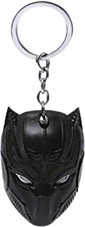 Classic Pride Black Panther from Avengers Metal Keychain - Black