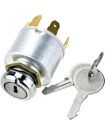 Interruptor de arranque de bloqueo de encendido profesional con 2 llaves para Berlingo Partner 2002-2008 Reemplazar OEM 4162.CF