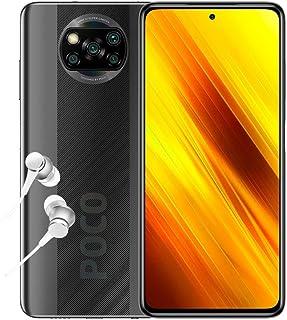 "POCO X3 NFC - Smartphone 6.67"" FHD+, 6 + 64GB, Snapdragon 732G, 64 MP con IA, Quad-cámara, 5160 mAh, color Gris sombra [Ve..."