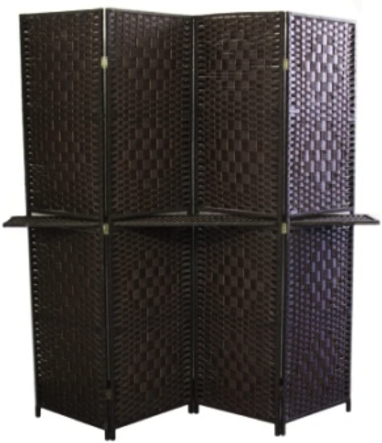 ORE International Direct stock discount FW0676Y 4-Panel Screen 63-In with Room Divider [Alternative dealer]