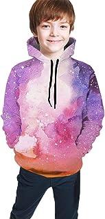 Galaxy Kids/Teen Girls' Boys' Hoodies,3D Print Pullover Sweatshirts