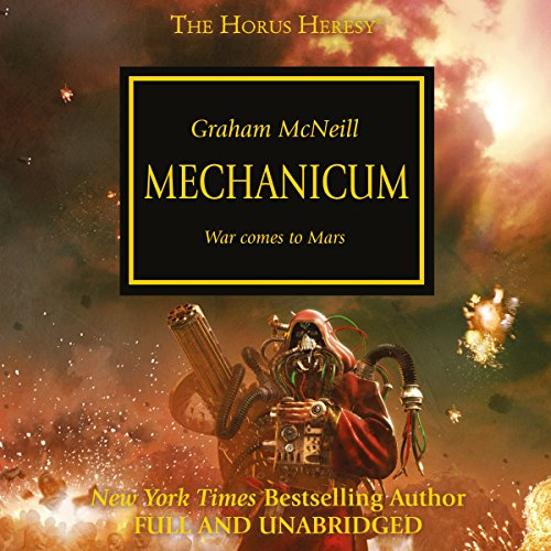Mechanicum audiobook cover art