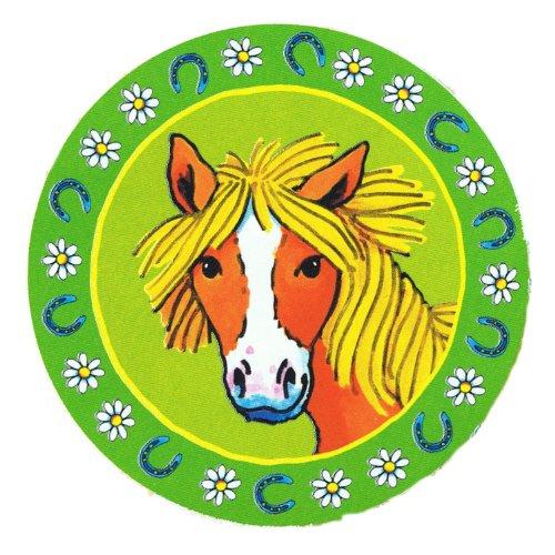 8 Party-Teller * Pferde / Pony * für Kindergeburtstag von Lutz Mauder // 11112 // Kinder Geburtstag Party Kinderparty Kinderfest Fete Pferdchen Mädchen Reiter Reiten Pappteller