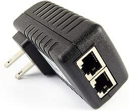 DSLRKIT Gigabit 48V 30watt PoE Injector Adapter Power Over Ethernet 802.3at af UBNT AP 1000Mbps