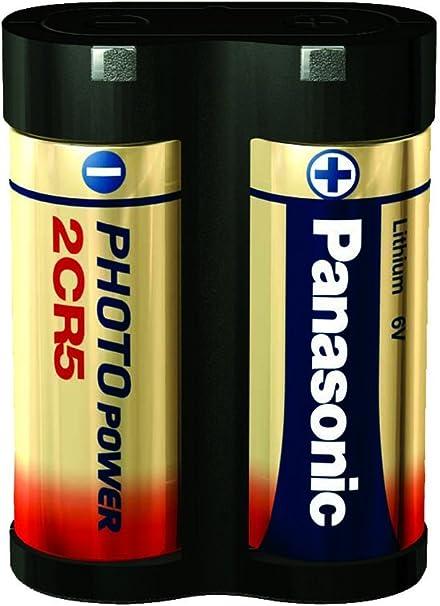 Panasonic 240133 Fotobatterie Lithium 1600 Mah 6 V Elektronik
