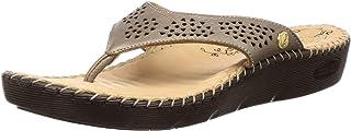 Scholl Women's Liza Thong Leather Fashion Slippers