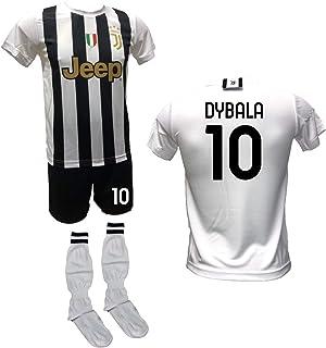 DND DI D'ANDOLFO CIRO Voetbalshirt wit Home Paulo Dybala la Joya, shorts met nummer 10 bedrukt en goedgekeurde sokken repl...
