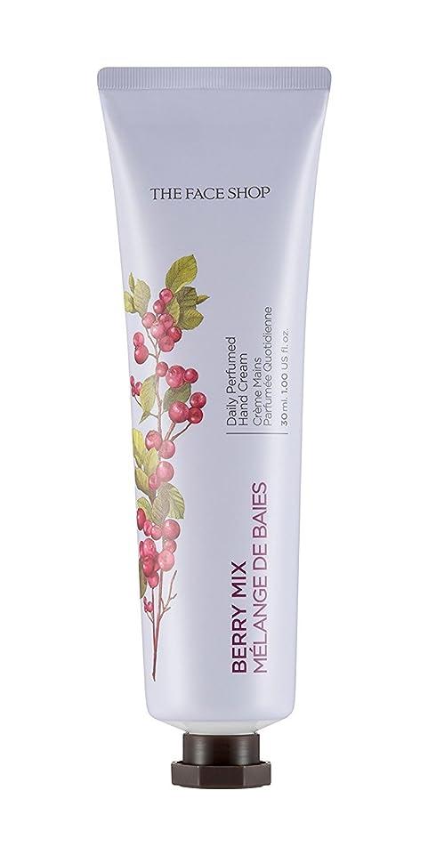 ジョブ文化下る[1+1] THE FACE SHOP Daily Perfume Hand Cream [04. Berry Mix] ザフェイスショップ デイリーパフュームハンドクリーム [04.ベリーミックス] [new] [並行輸入品]