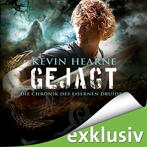Gejagt (Chronik des Eisernen Druiden 6) audiobook cover art