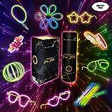 Pulseras Luminosas Fluorescentes Para Fiestas de Cumpleaños o Boda Decoracion Bautizo Comunion Carnaval Glow Sticks Barras o Varitas Para Photobooth Photocall Regalos Para Niños Detalles
