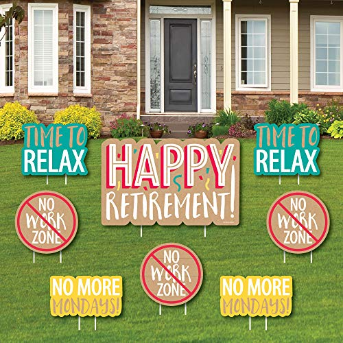 Retirement Lawn Signs to Embark On a New Life
