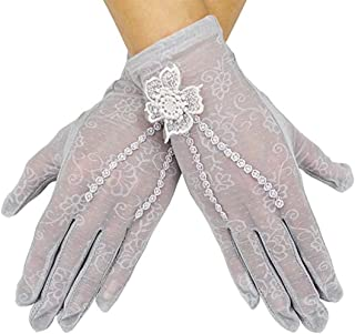 Julang Women's Bridal Wedding Lace Gloves Derby Tea Party Gloves Victorian Gothic Costumes Gloves