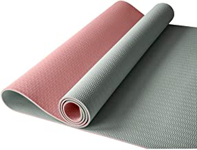 WZHYOGAMAT verbrede rubberen yogamat anti-slip fitnessmat kan worden uitgebreid voor camping/pilates/stretching/sit-ups mu...