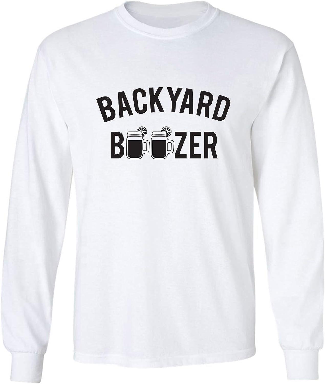 zerogravitee Backyard Boozer Adult Long Sleeve T-Shirt