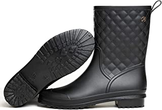 Dear Time Women Quilted Styles Rain Boots