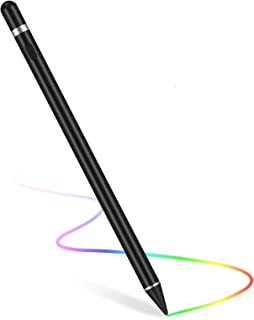 Stylus Pen for Touch Screens, Digital Pen Active Pencil Fine Point Compatible with iPhone iPad and Other Tablets black