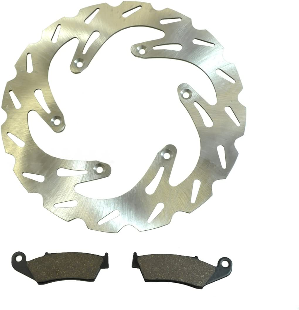 Front Wave Disc Brake Rotor Excellence Suzuki fits Pads D 2000-2015 San Antonio Mall