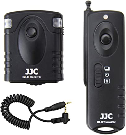 JJC MA-C Remote Switch Shutter Release for Canon EOS 760D T6s 750D T6i G1X II 70D 700D Black