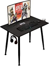 Need Gaming Desk - Writing Computer Table Workstation Black Study Desk Home Office Desk for Bedroom Living Room Dormitory ...