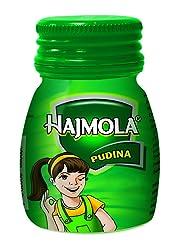 Dabur Hajmola Pudina Bottle, 50 Tablets