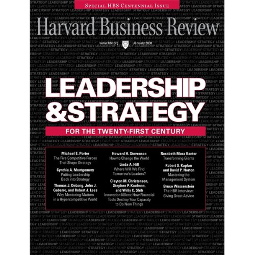 Harvard Business Review, January 2008 audiobook cover art