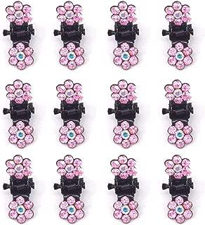 X-SPORT Mini Hair Claw Clip Hair Pin For Little Girls Hair Clip Mini Hair Claws Hair Bangs Clip 12PCS