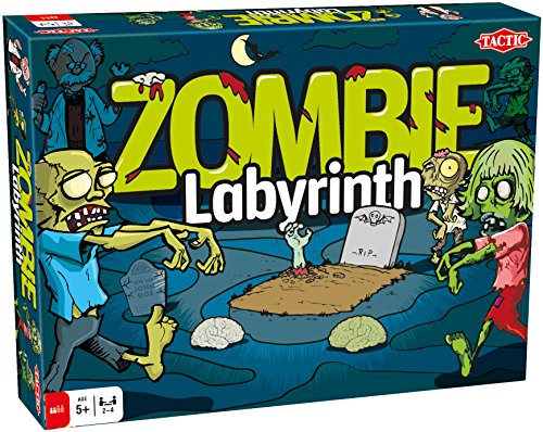 Zombie Labyrinth Tactic Games Board Game by