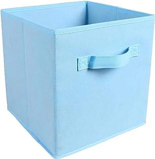 MNNE 2 boîtes de Rangement Non tissées de Haute qualité, boîtes de Rangement Pliables multifonctionnelles, Sacs de Rangeme...