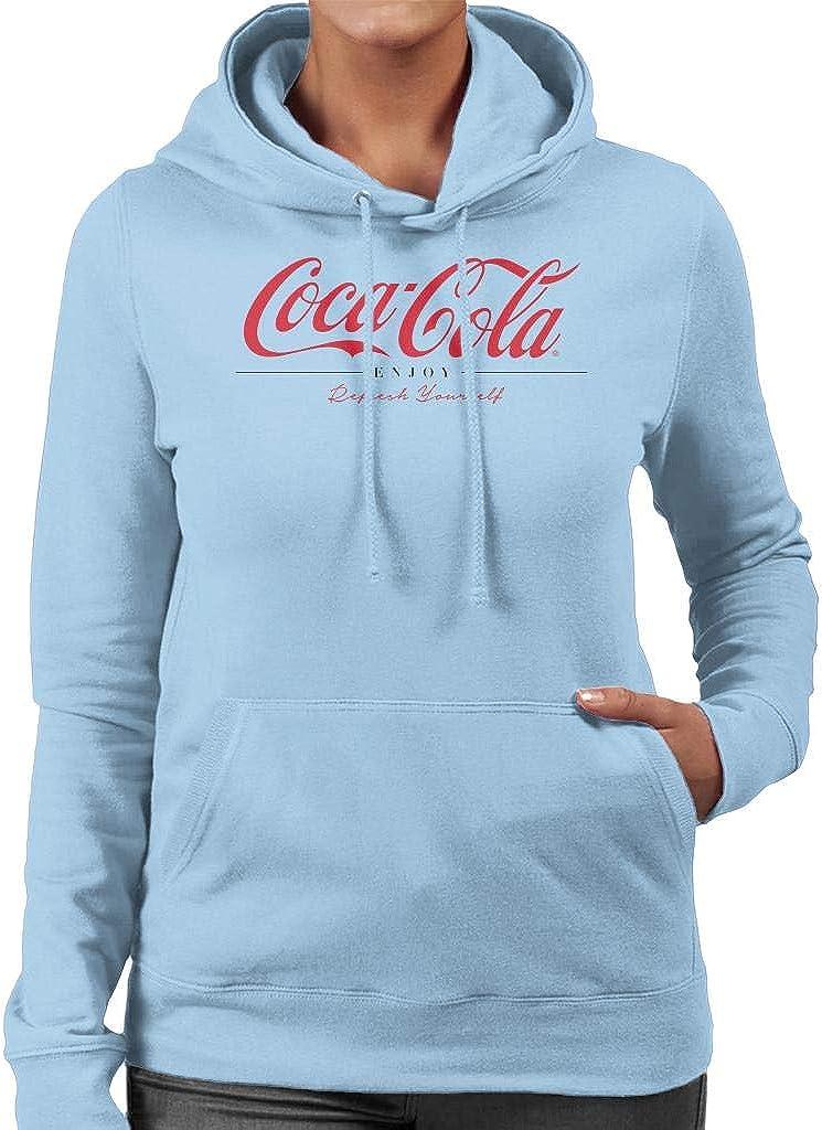 Coca-Cola Enjoy and Refresh Yourself Ranking TOP13 Sweatshirt S Ranking TOP15 Women's Hooded