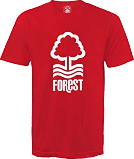 Nottingham Forest Football Club Official Soccer Gift Mens Crest T-Shirt