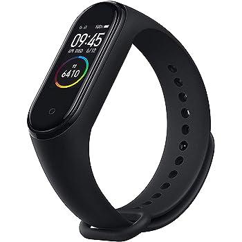 WHRZ Mi Band 4 Global Pulsera con frecuencia cardíaca, Bluetooth 5.0 para escuchar música mientras haces deporte, podómetro, notificaciones de mensajería y sumergible hasta 50, para sistemas Android y iOS