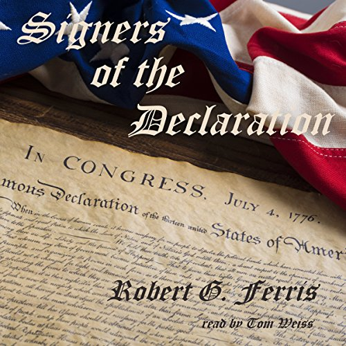 Signers of the Declaration audiobook cover art