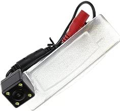 KUNFINE Pista CCD cámara de visión Trasera para Coche para Kia K5/K42011/13/14Cámara inversa Backup cámara de visión Trasera cámara Pista línea luz LED de visión Nocturna Resistente al Agua