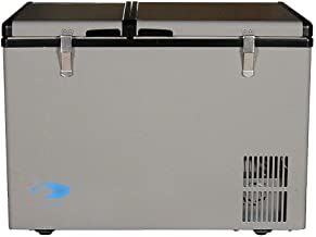 Whynter 62 Quart Dual Zone Portable Fridge, AC 110V/ DC 12V True Freezer for Car, Home,..