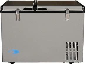 Whynter FM-62DZ 62 Quart Dual Zone Portable Fridge/Freezers, One Size, Gray