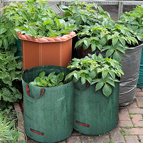 Purchase AloPW Yard Waste Bags 3pcs/Set 72 Gallons Garden Bag Reusable Vegetable Gardening Bags Gard...