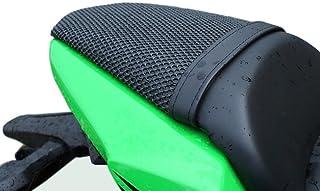 Cubierta TRIBOSEAT para Asiento Antideslizante Accesorio Personalizado Negro Compatible con Kawasaki Ninja 650 (2017-2018)