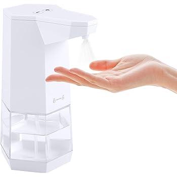 「2020年最新型」IVSO アルコール消毒噴霧器 自動手指消毒器 自動誘導 ソープディスペンサー 吐出量2段階調整 自動センサー噴霧器残量確認可 360ml容量 IPX4防水残量確認可 洗面所/キッチン/学校など公共の場所に適用