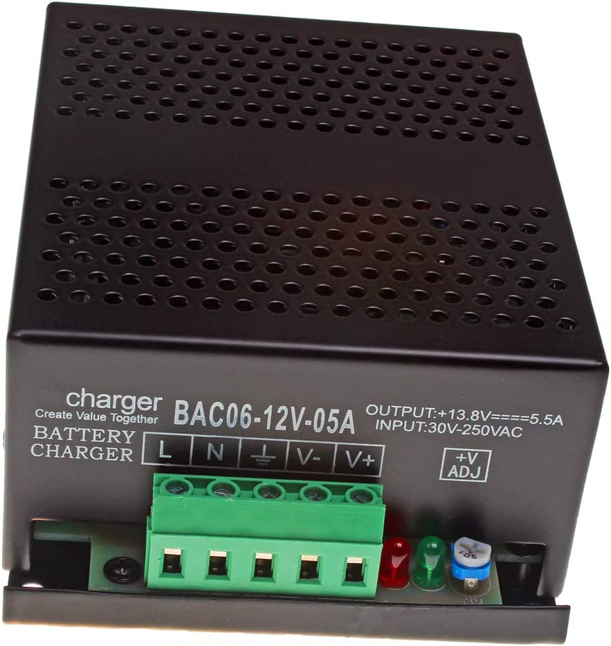 12V 5A Battery New Free Challenge the lowest price Shipping Charger 10000-05857 for Wilson 652-001 FG
