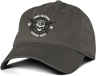 One Nation Under God Military Baseball Hat