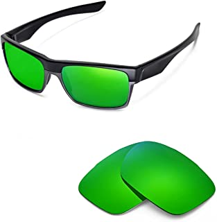 Walleva Replacement Lenses for Oakley TwoFace Sunglasses - Multiple Options Available