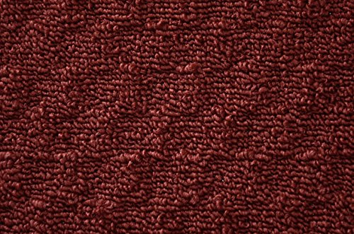 Garland Rug Town Square Area Rug, 5-Feet by 7-Feet, Chili Pepper Red