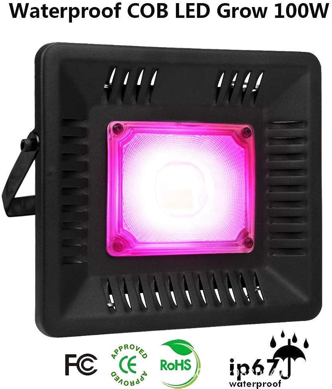 Pflanzenlichter Pflanzenwachstumslicht - 50W LED Pflanzenflutlicht IP67 Wasserdichtes, pflanzengeführtes Innenwachstumslicht mit vollem Spektrum