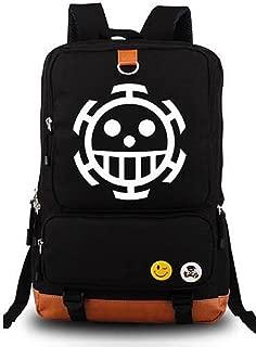 Anime One Piece Cosplay Luminous Shoulder Bag Rucksack Backpack School Bag