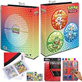 Totem World Sword & Shield Galar Starters 2' 3-Ring Collectors Binder Album with 25 9-Pocket Pages and 1 Collectors Binder - Perfect for Holding up to 450+ Pokemon Cards
